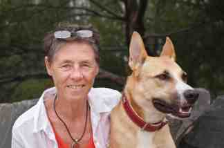 Susan Hawthorne and Freya ©Nick Walton-Healey, 2013 Susan Hawthorne is the author of eleven books of poetry, fiction and non-fiction. Her poetry collection Cow was shortlisted for the Kenneth Slessor Poetry Prize in the 2012 NSW Premier's Literary Awards and was also a finalist in the 2012 Publishing Triangle Awards for the Audre Lorde Lesbian Poetry Prize in the US. Earth's Breath was shortlisted for the 2010 Judith Wright Poetry Prize. Her work has appeared in annual Best Australian Poems anthologies, been broadcast on National Radio, and published around the world in literary journals and anthologies. In 2013 she is Literature Resident at the BR Whiting Studio in Rome. She is Adjunct Professor in Writing at James Cook University, Director of Spinifex Press, playing a leading role in independent publishing and eBook publishing. Her latest book is a verse novella, Limen (2013).